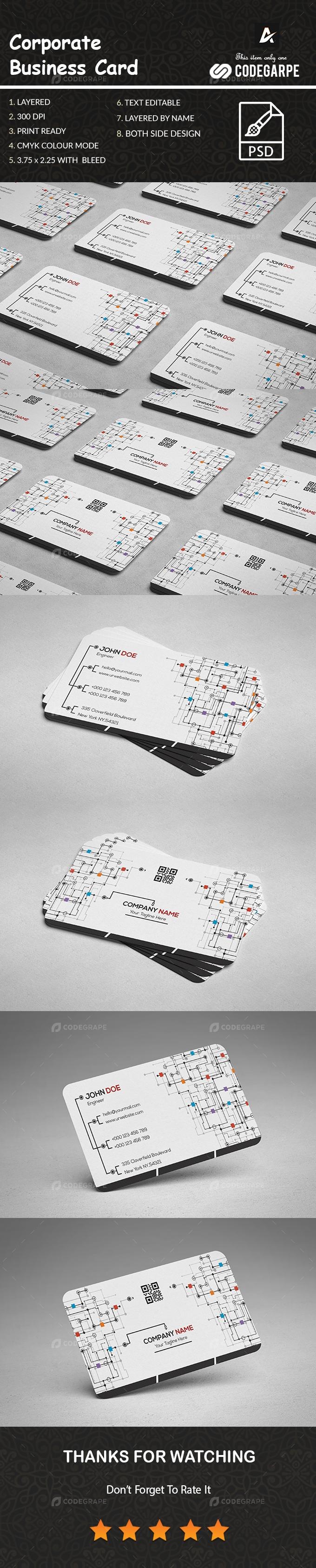 Corporate Business Card [VOL-6]