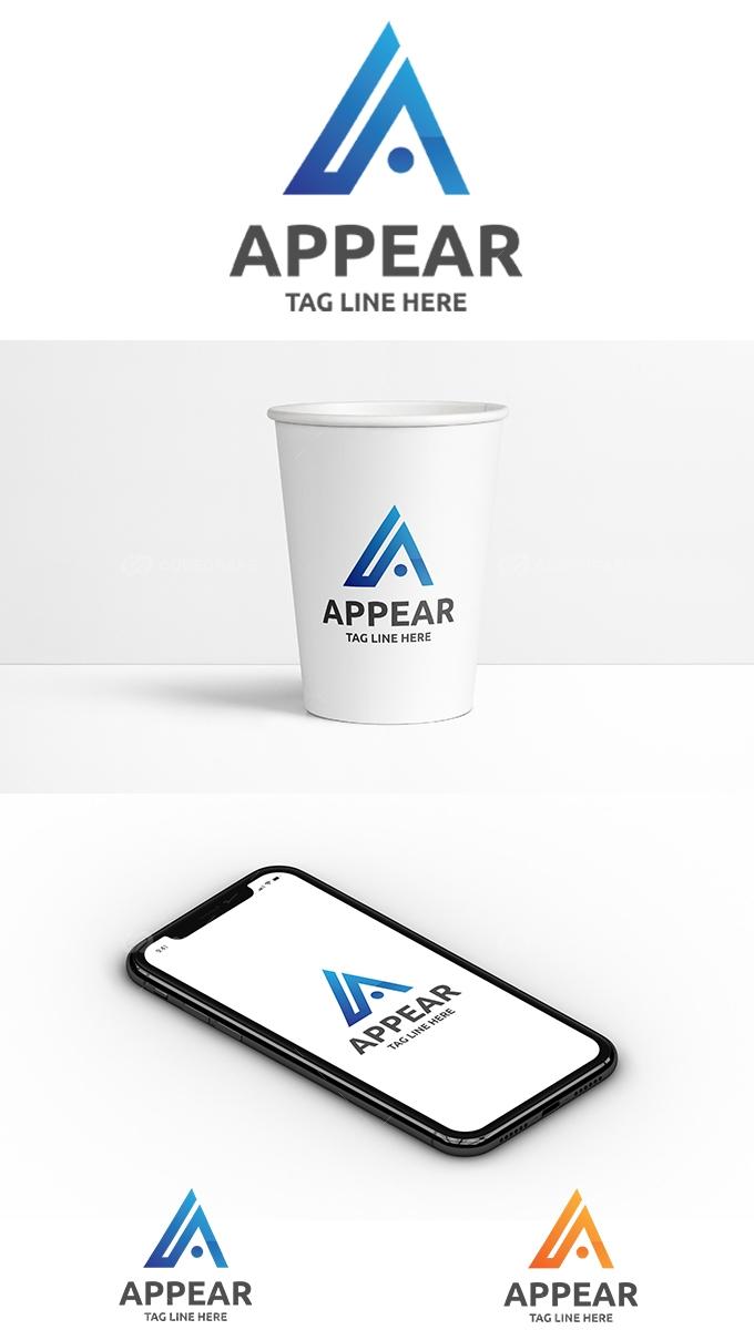 A Alphabet Logo