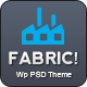 Fabric Wp PSD Multipurpose Theme