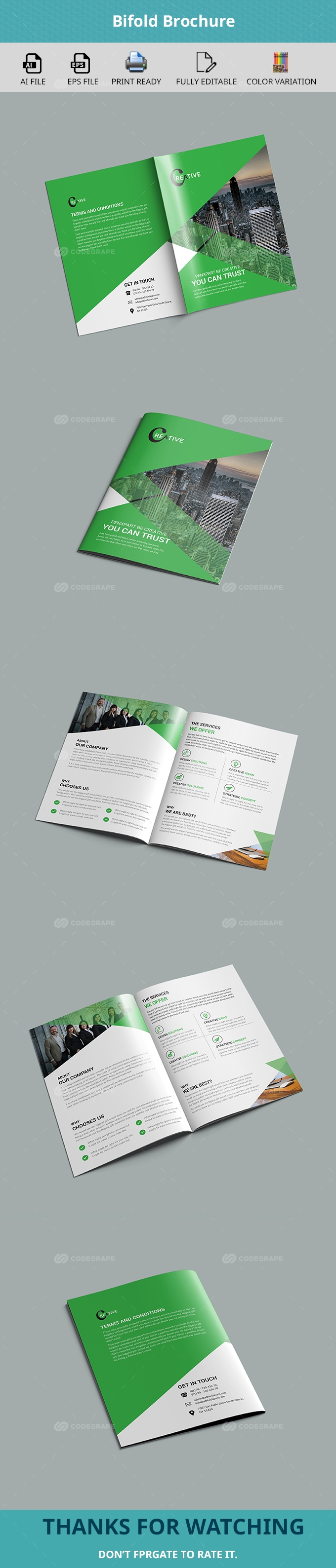 Bifold Multipurpose Brochure