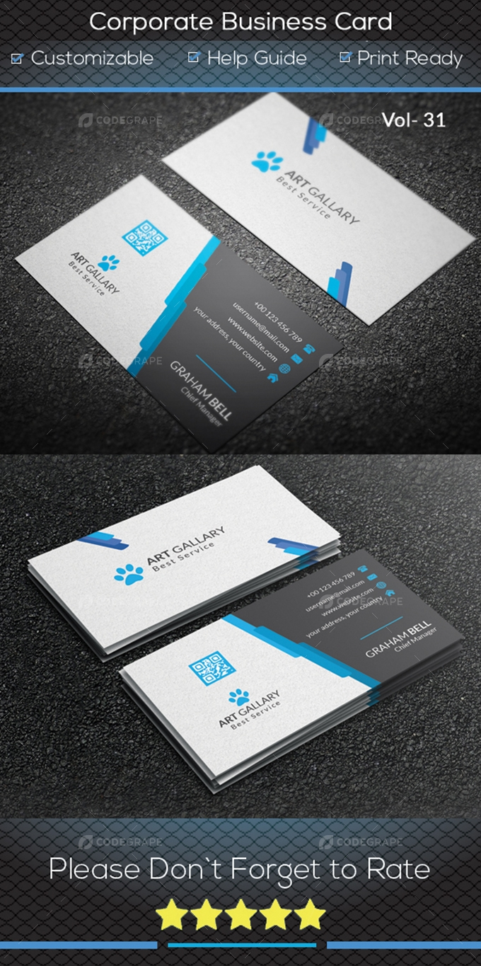 Corporate Business Card V.31
