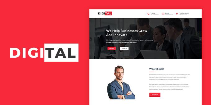 Digital - Business & Corporate HTML Template