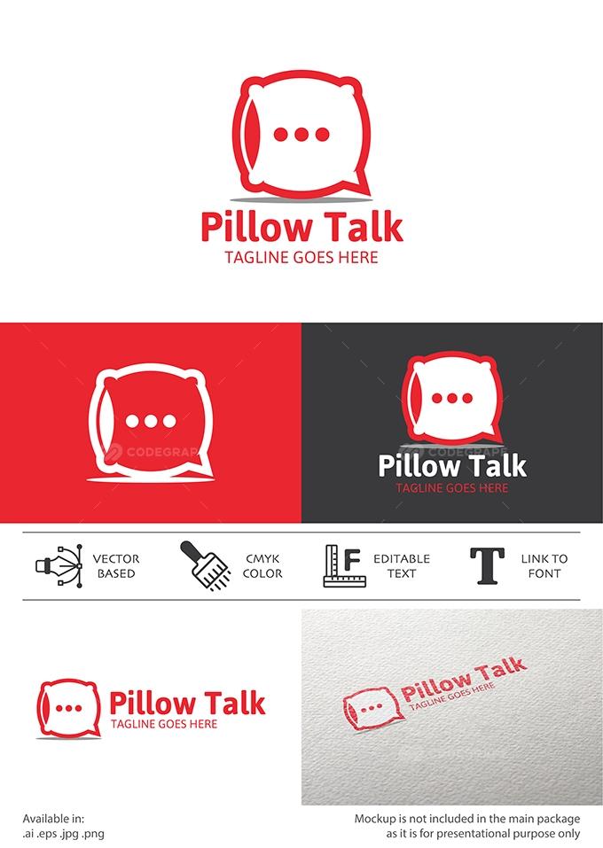 pillow talk chat logo