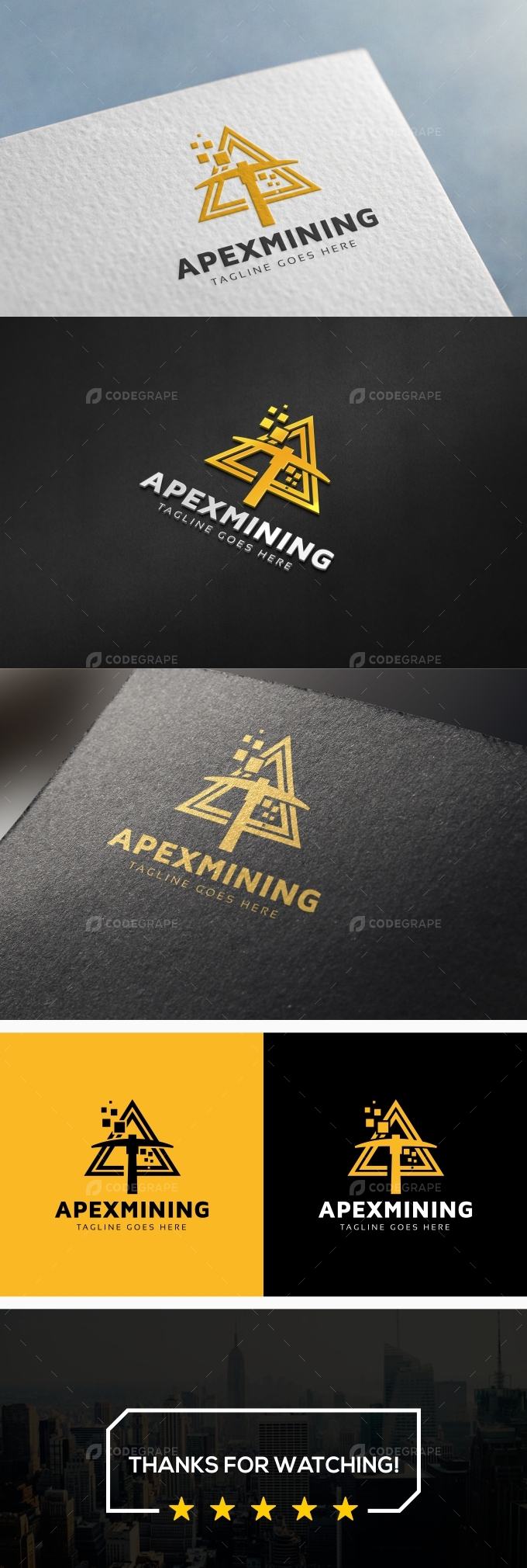 Apex Mining Crypto Logo