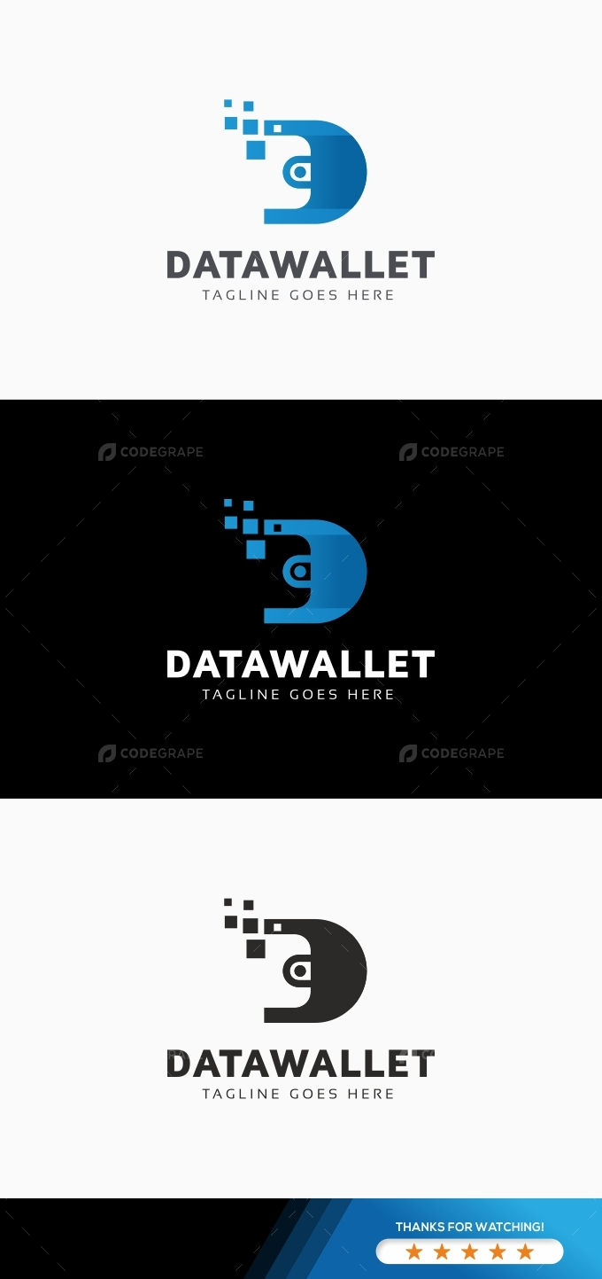 Data Cash Wallet Logo