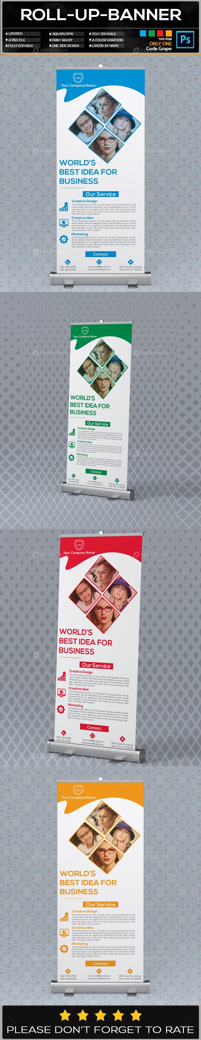 Roll Up Banner Vol - 02
