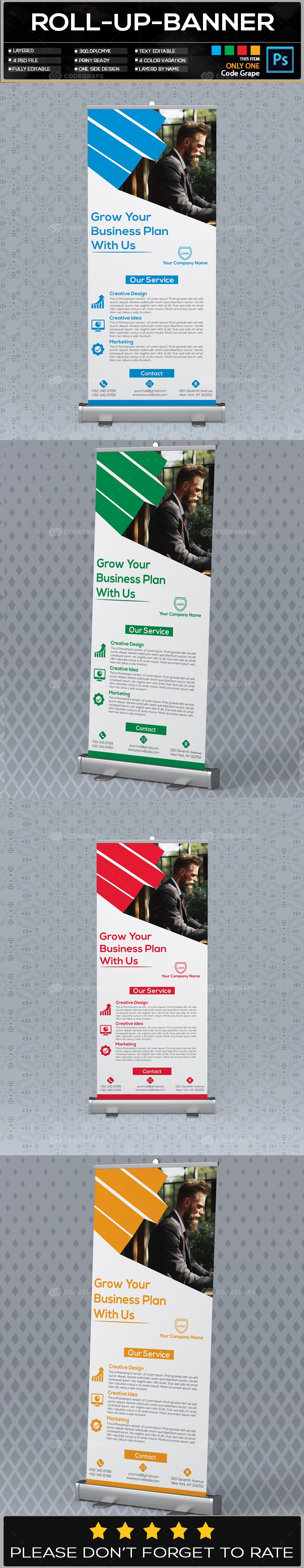 Roll Up Banner Vol - 06
