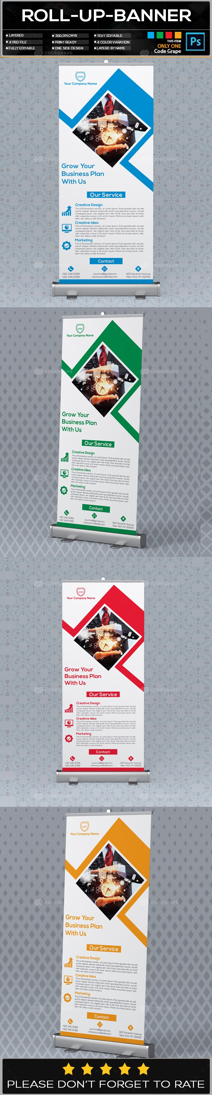 Roll Up Banner Vol - 07