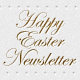 Happy Easter Newsletter PSD Template