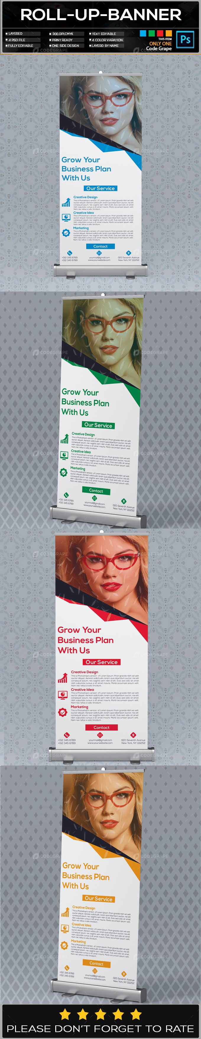 Roll Up Banner Vol - 10