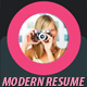 Modern Resume Template A4
