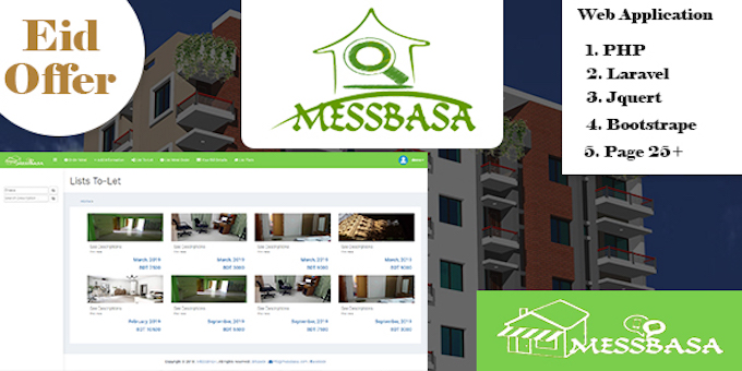 Messbasa - Dorm / eHostel / Tenant Management and Billing System