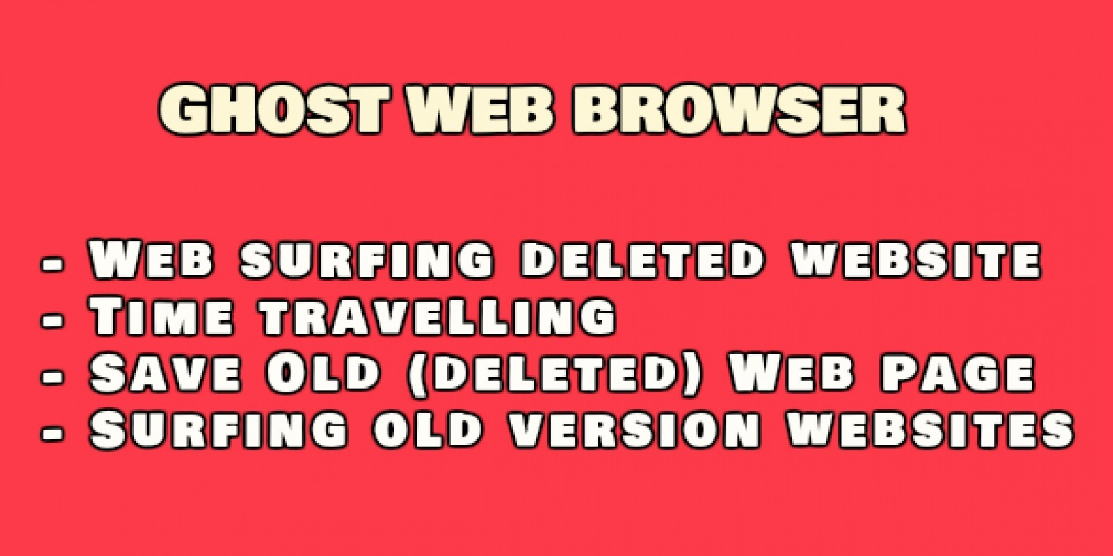 Ghost Web Browser