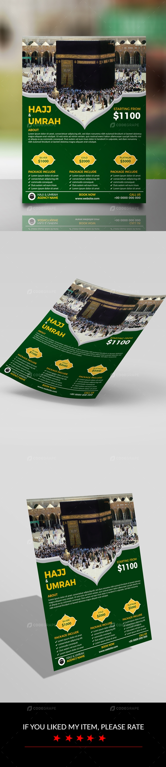 Hajj and Umrah Flyer