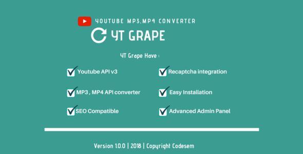 Yt Grape - Online YouTube MP3, MP4 Converter