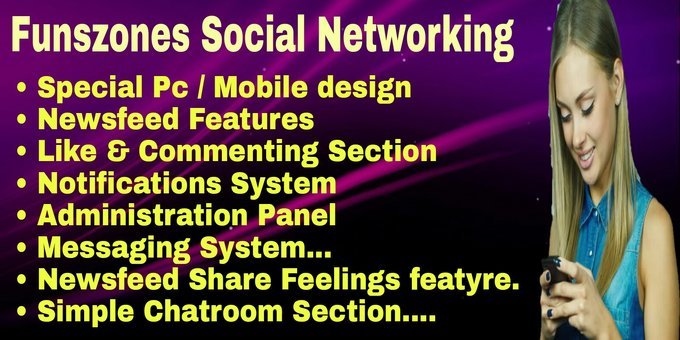 Funszones Social Networking Php Script