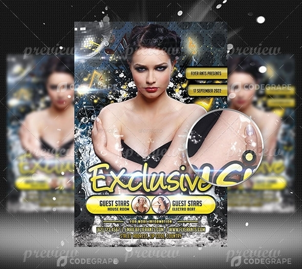 Exclusive Flyer Template