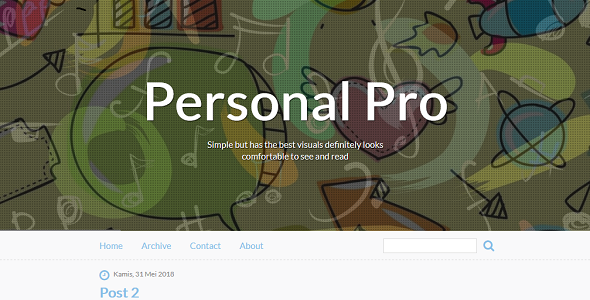 AC Personal Diary Blogger Theme