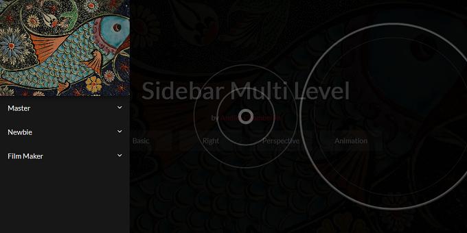 Sidebar Effect