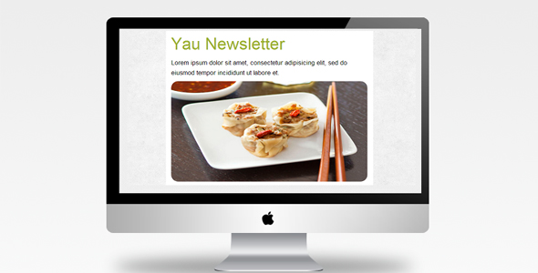 Yau Newsletter - Responsive Template