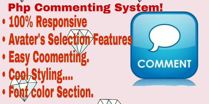 Advance PHP Commenting System