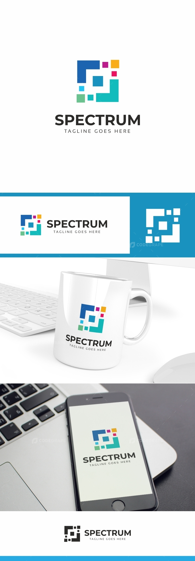 Spectrum Square Logo