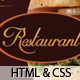 Restaurant Menu Template-Facebook Minisite