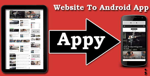 Appy - Convert your website into Android Mobile Application