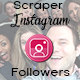 Scraper Instagram Followers