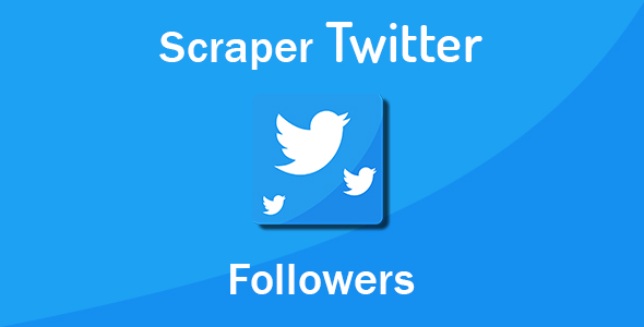 Scraper Twitter Followers