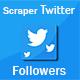Scraper Twitter Followers