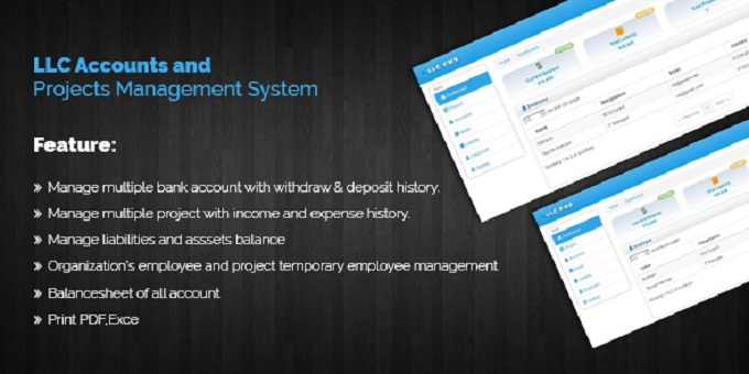 Accounts & Project Management System