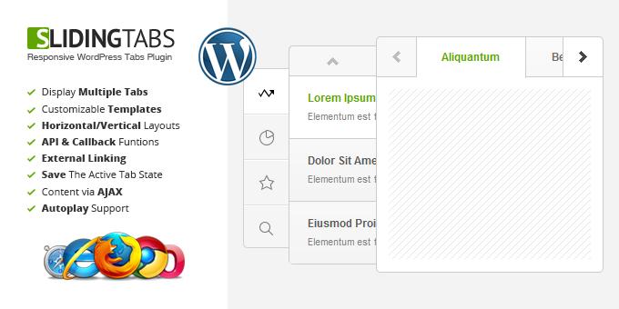 Sliding Tabs WordPress Plugin