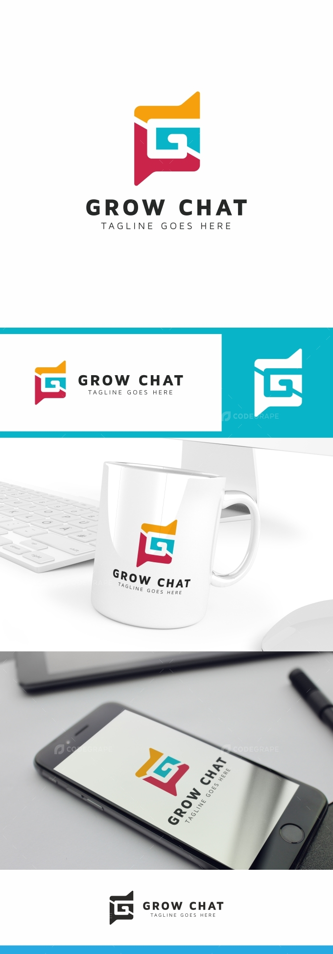 Grow Chat Logo