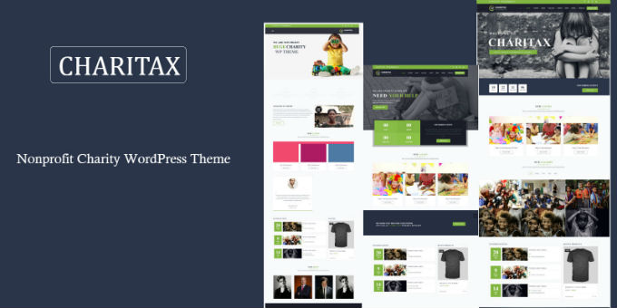 Charitax - Nonprofit Charity WordPress Theme