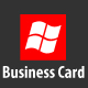 Windows Phone Business Card