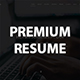 Premium Resume One Page HTML Template