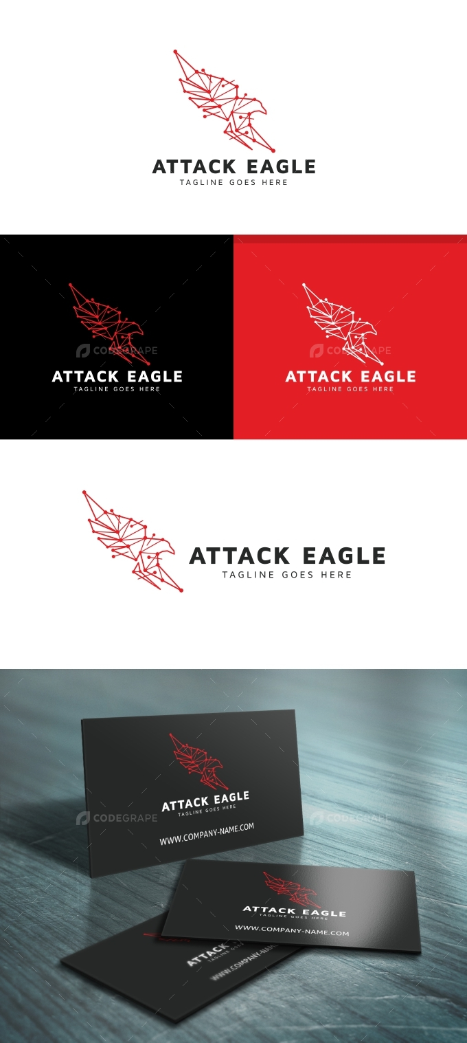 Attack Eagle Logo