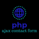 PHP Ajax Contact Us Form