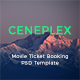 Ceneplex - Online Movie Ticket Booking PSD Template