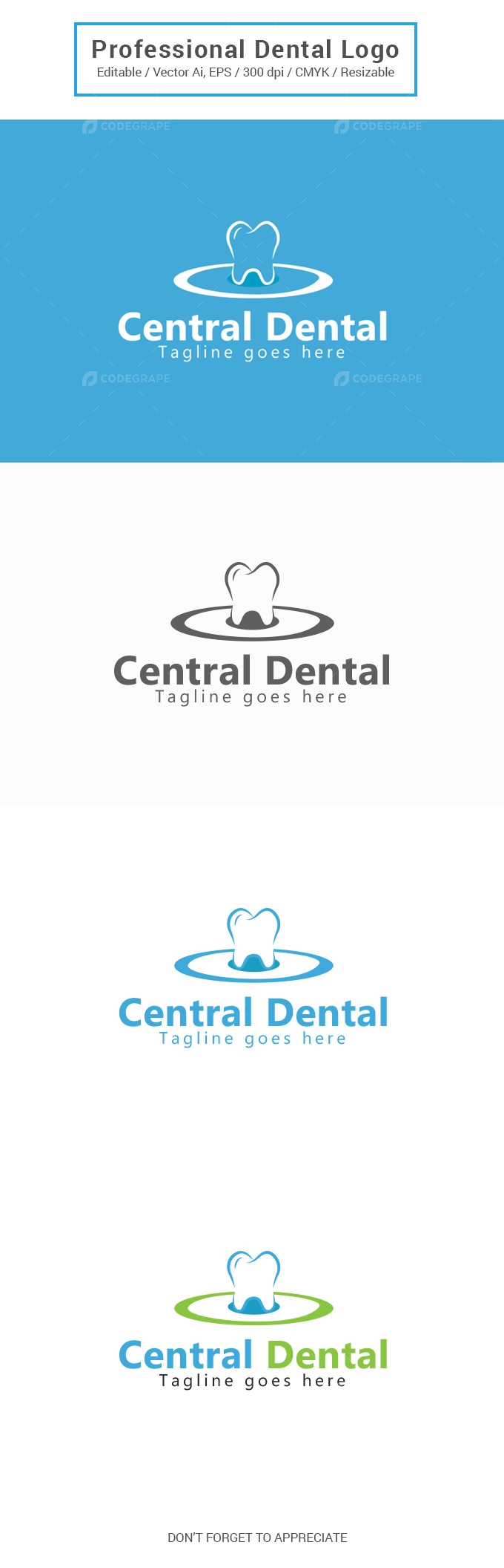 Central Dental Logo