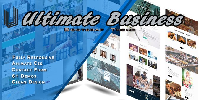 Ultimate Business Bootstrap Theme