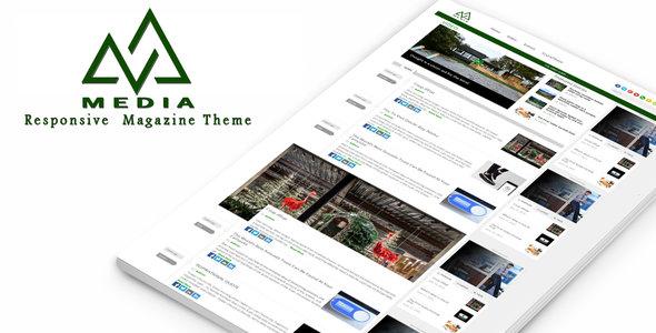 Media - Responsive Magazine Theme
