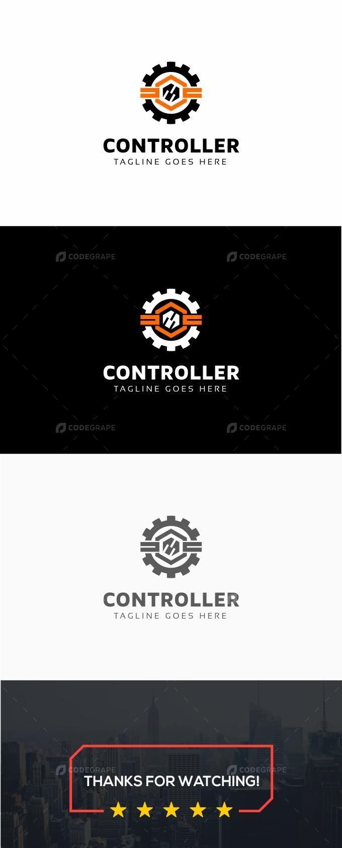 Controller Gear Logo