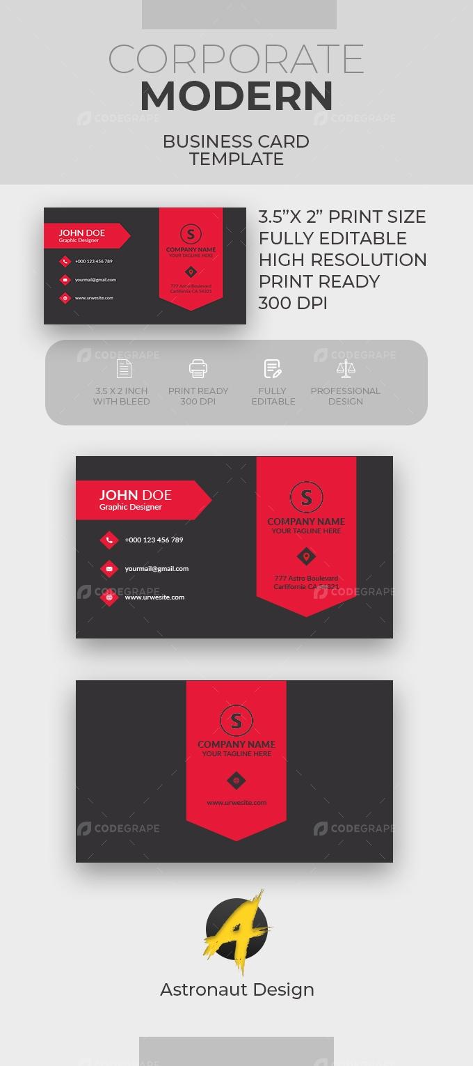 Corporate Business Card [VOL-13]