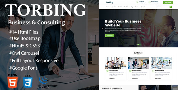 Torbing Business & Consulting Template