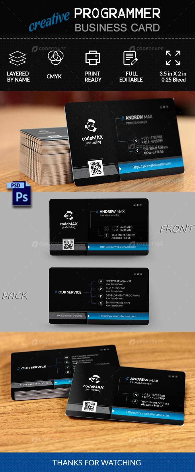 Programmer Business Card