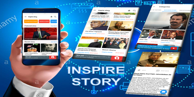 Story App - Inspire Story App Android For WordPress Site