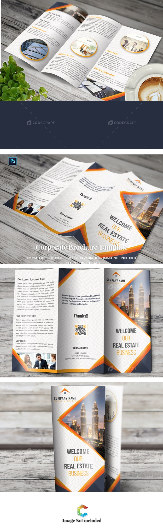 Real EstateTrifold Brochure
