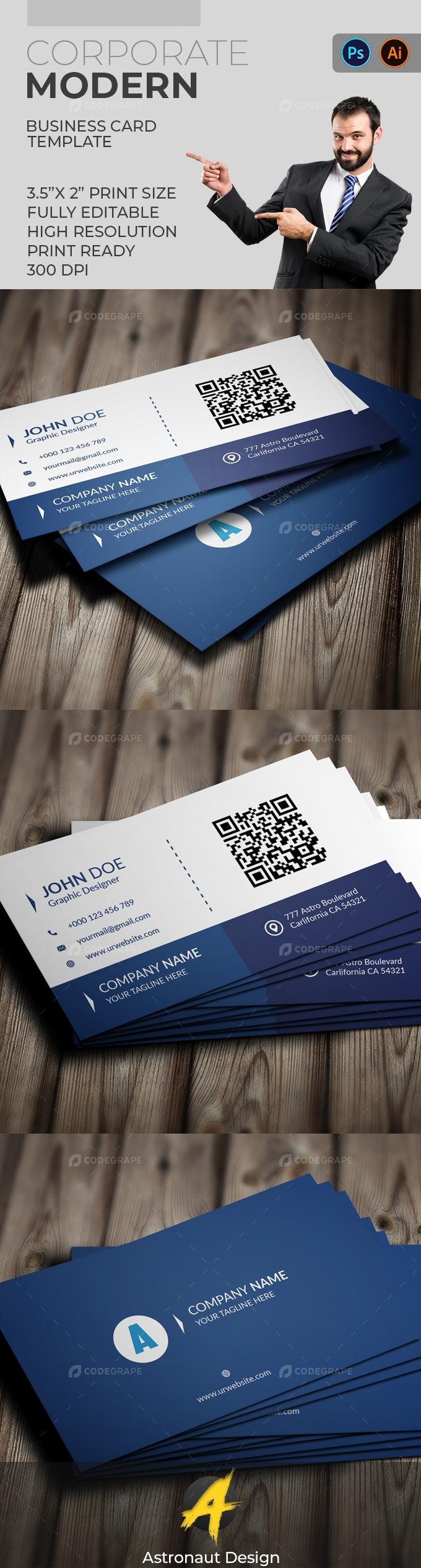 Corporate Business Card [VOL-15]